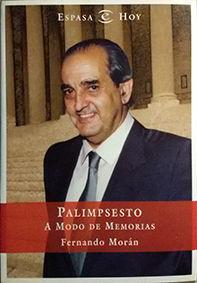 PALIMPSESTO A MODO DE MEMORIAS