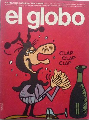 EL GLOBO - REVISTA MENSUAL DEL CÓMIC - AÑO II Nº 13 1-03-1974