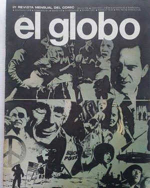 EL GLOBO - REVISTA MENSUAL DEL CÓMIC - AÑO II Nº 21 1-11-1974