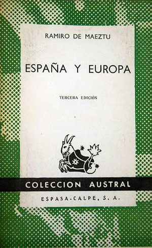 ESPAÑA Y EUROPA