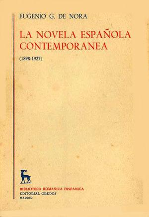 LA NOVELA ESPAÑOLA CONTEMPORÁNEA TOMO SEGUNDO (1927-1960)