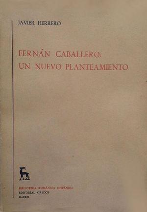 FERNÁN CABALLERO: UN NUEVO PLANTEAMIENTO