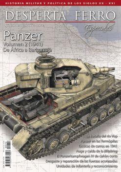 DESPERTA FERRO ESPECIALES XVI:  PANZER VOL. II (1941): DE ÁFRICA A BARBARROJA