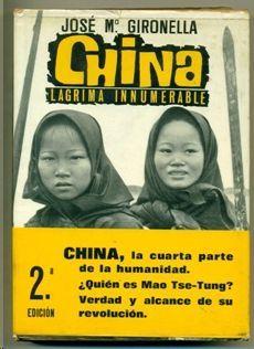 CHINA LAGRIMA INNUMERABLE
