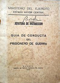 GUIA DE CONDUCTA DEL PRISIONERO DE GUERRA