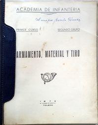 ARMAMENTO, MATERIAL Y TIRO