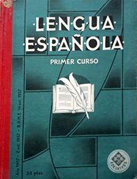 LENGUA ESPAÑOLA PRIMER CURSO
