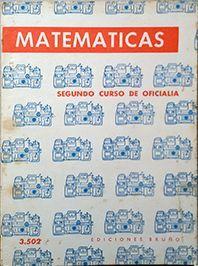 MATEMATICAS SEGUNDO CURSO DE OFICIALIA