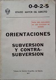ORIENTACIONES SUBVERSION Y CONTRASUBVERSION 0-0-2-5
