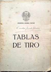 TABLAS DE TIRO