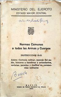NORMAS COMUNES A TODAS LAS ARMAS Y CUERPOS