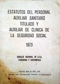 ESTATUTO DEL PERSONAL AUXILIAR SANIRTARIO TITULADO Y
