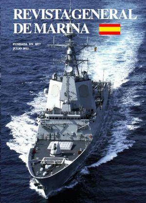 REVISTA GENERAL DE MARINA  JULIO 2012  TOMO 263