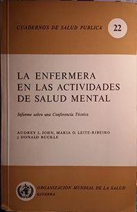 LA ENFERMERA EN LAS ACTIVIDADES DE SALUD MENTAL
