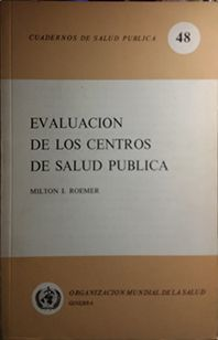 EVALUACION DE LOS CENTROS DE SALUD PUBLICA
