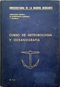 CURSO DE METEOROLOGIA Y OCEANOGRAFIA