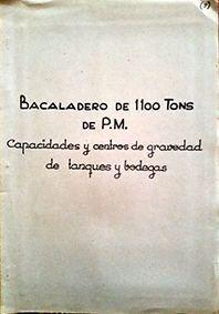 BACALADERO DE 1.100 TONS. DE P.M.