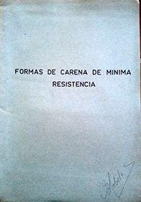 FORMAS DE CARENA DE MINIMA RESISTENCIA