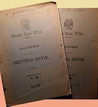 HISTORIA NAVAL TOMO I Y II