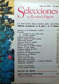 SELECCIONES DEL READER'S DIGEST  MAYO 1975 Nº 414