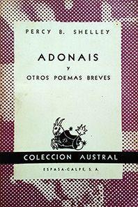 ADONAIS Y OTROS POEMAS BREVES