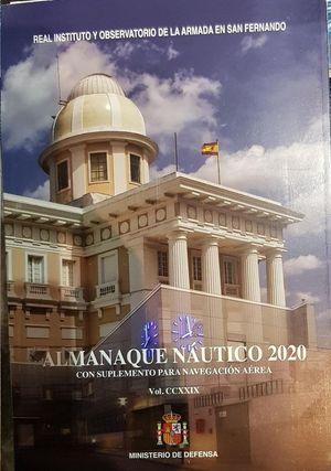 ALMANAQUE NÁUTICO 2020 CON SUPLEMENTO PARA LA NAVEGACIÓN AÉREA