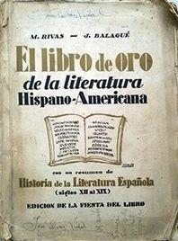 EL LIBRO DE ORO DE LA LITERATURA HISPANO - AMERICANA
