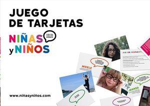 JUEGO DE TARJETAS NIÑAS Y NIÑOS