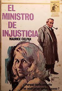 EL MINISTRO DE INJUSTICIA