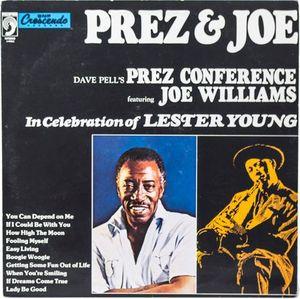PREZ & JOE, IN CELEBRATION OF LESTER YOUNG (DISCO VINILO)