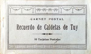 10 POSTALES DE CALDELAS DE TUY