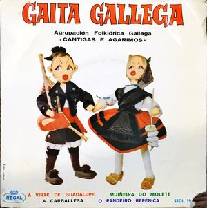 GAITA GALLEGA (SINGLE DISCO VINILO)