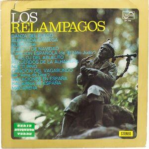 LOS RELAMPAGOS (DISCO VINILO)