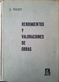 RENDIMIENTOS Y VALORACIONES DE OBRAS TOMO II