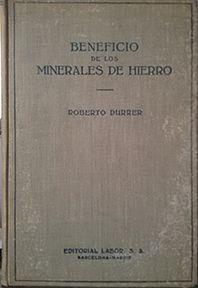 BENEFICIOS DE LOS MINERALES DE HIERRO