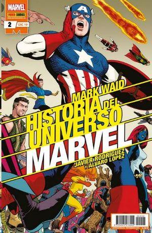 HISTORIA DEL UNIVERSO MARVEL  Nº 2