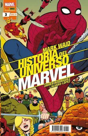 HISTORIA DEL UNIVERSO MARVEL  Nº 3