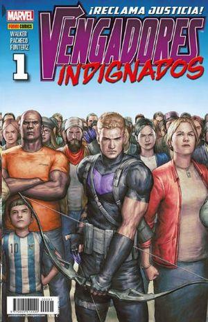 VENGADORES INDIGNADOS  Nº 1