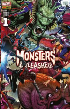 MONSTERS UNLEASHED!  Nº 1