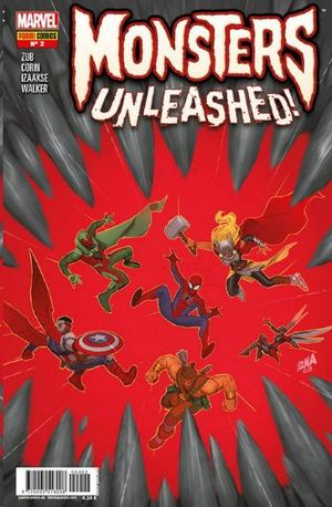 MONSTERS UNLEASHED!  Nº 2