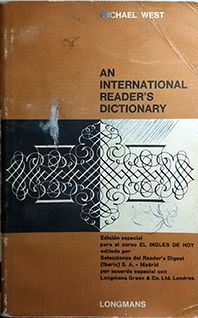 AN INTERNATIONAL READER`S DICTIONARY