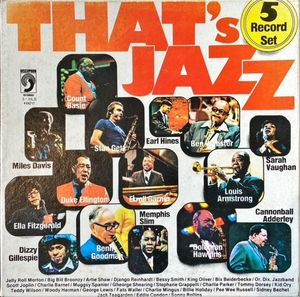 VINILO - THAT'S JAZZ 5 RECORD SET