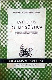 ESTUDIOS DE LENGÜIÍSTICA