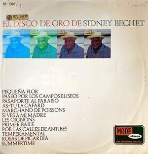 VINILO - EL DISCO DE ORO DE SIDNEY BECHET