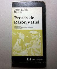 PROSA DE RAZON Y HIEL