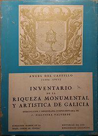 INVENTARIO DE LA RIQUEZA MONUMENTAL Y ARTÍSTICA DE GALICIA