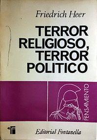 TERROR RELIGIOSO, TERROR POLITICO