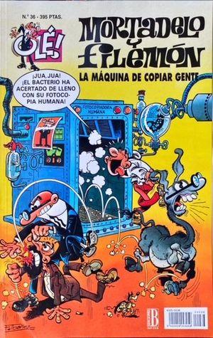 LA MÁQUINA DE COPIAR GENTE Nº 36