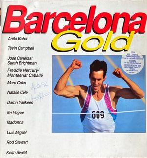 VINILO - BARCELONA GOLD