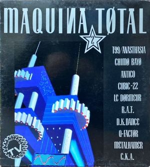 VINILO - MAQUINA TOTAL 2